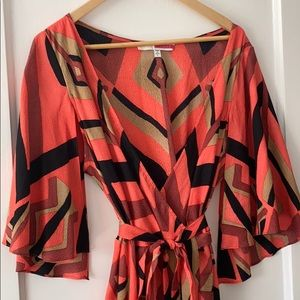 Tracy Reese wrap dress